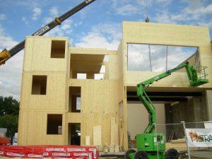 NOVATOP for multi-storey wood building